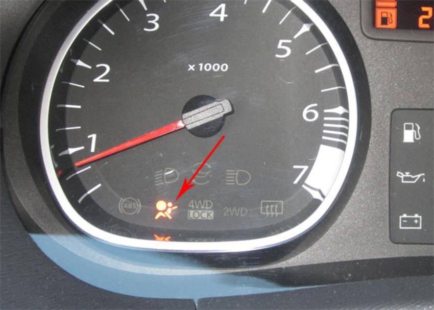 Ошибка подушки, удаление краш даты (airbag fault)