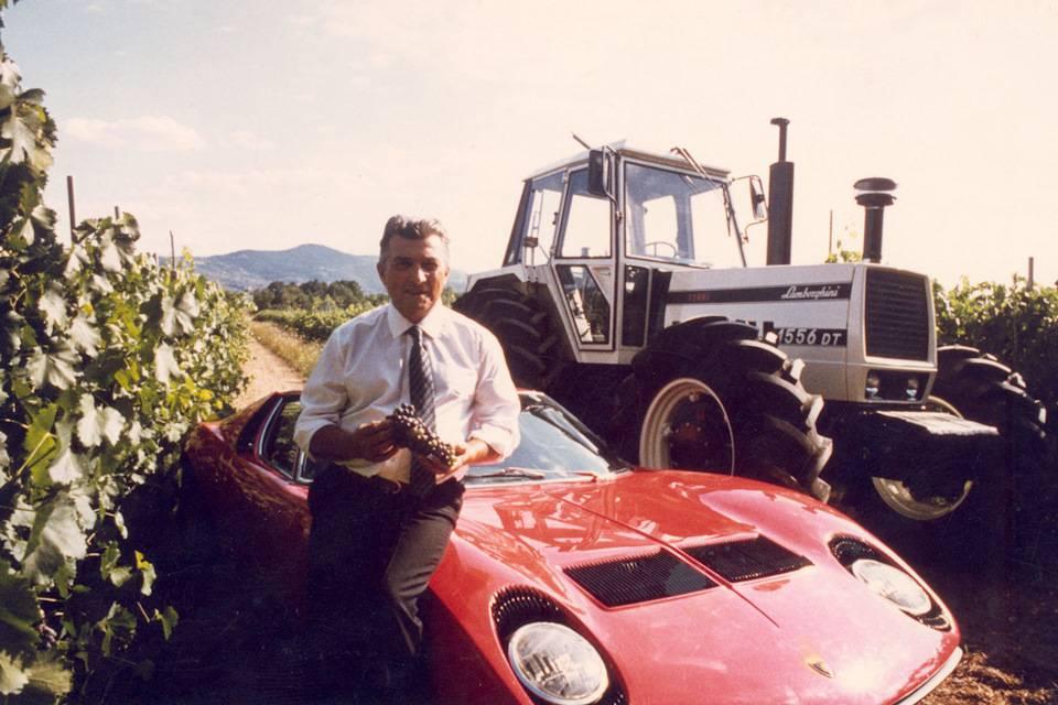 Lamborghini miura: как побить ferrari, не отвлекаясь от выпуска тракторов