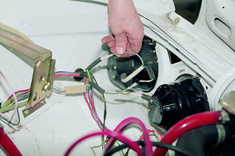 Ваз 2111 не работает ближний свет габариты работают