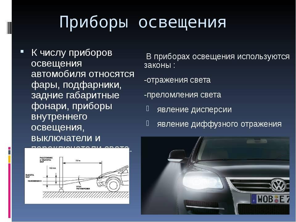 Автомобильные фары – виды современного освещения и технологии будущего