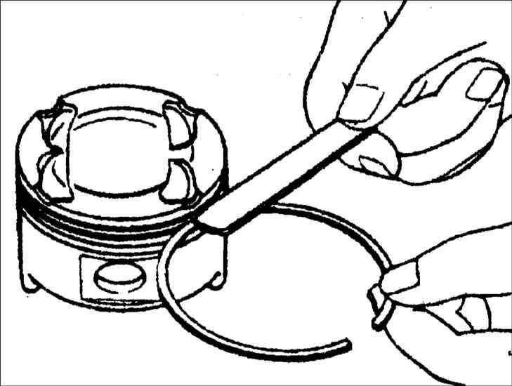 Все о поршневых кольцах: конструкция, проблемы и монтаж компрессионных и маслосъемных колечек