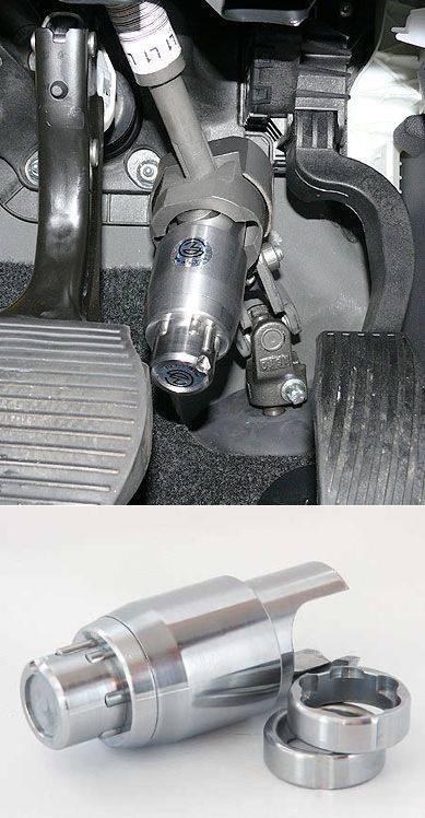 Механический блокиратор рулевого вала: виды, установка своими руками и видео о блокировке с отзывами