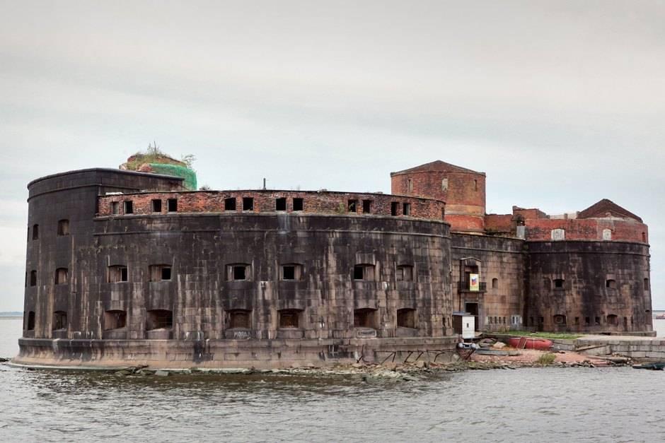 Все форты кронштадта на карте и фотографии с дрона