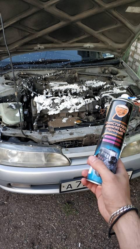 Как мыть двигатель автомобиля и следует ли вообще это делать?