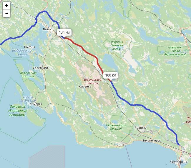 Ход строительства скандинавия трасса