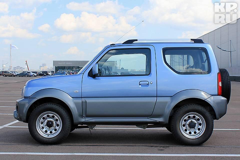 Suzuki jimny: выставляем старый против нового (большой тест)