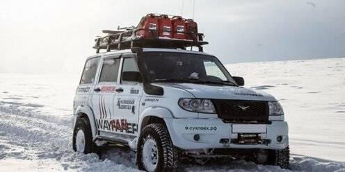 «УАЗ» представил новую «антарктическую» версию Патриота