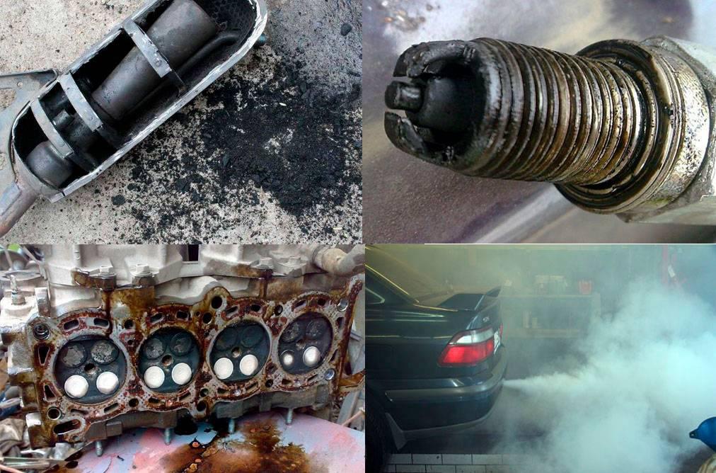 Пять основных причин расхода масла в двигателе.