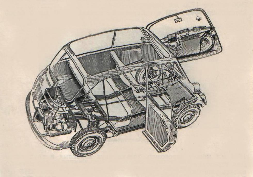 Раритетная «инвалидка»: транспортное средство времен ссср, фото машины и салона - 1rre