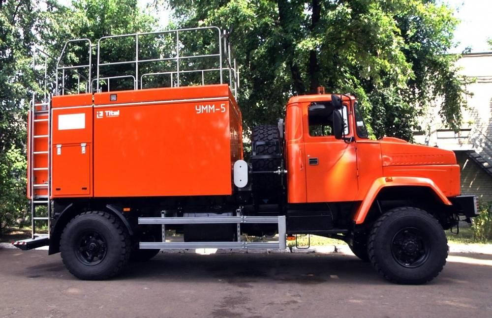 Краз-7133с4 самосвал 8×4 в москве — продажа и лизинг