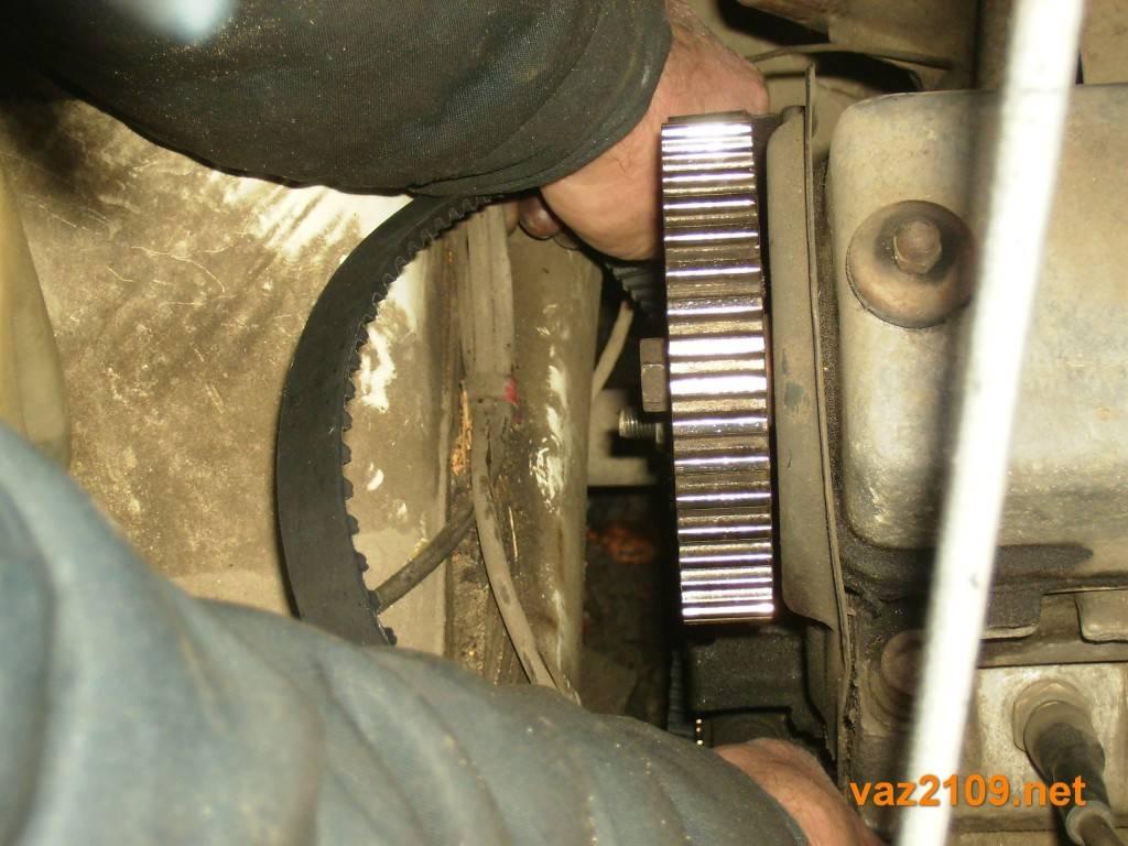 Ручная замена ремня грм на ваз 21099 инжектор: инструкции, фото и видео