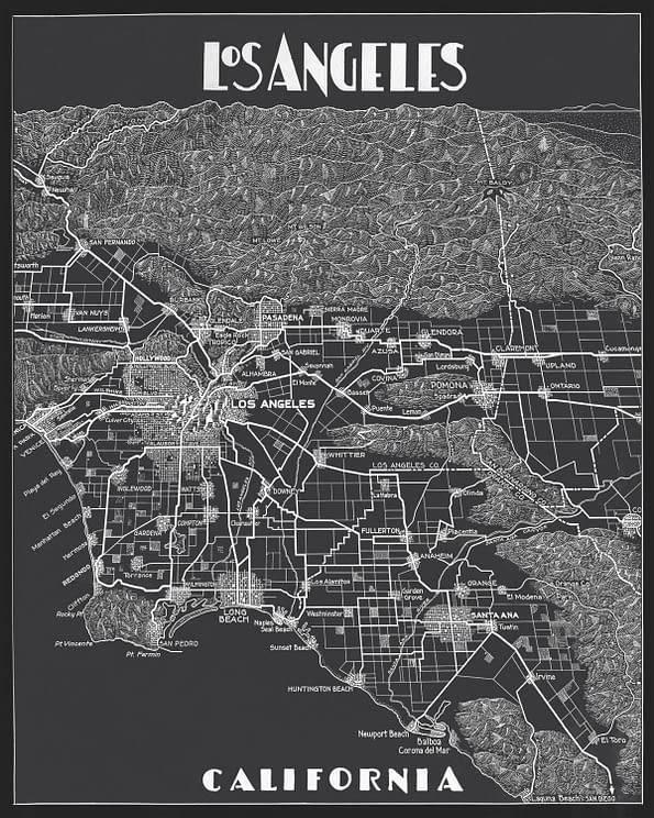 Гид по городу: лос-анджелес