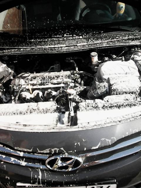 Что такое мойка двигателя без воды и особенности сухой мойки