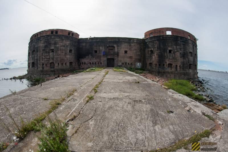 Как добраться до самых интересных фортов кронштадта