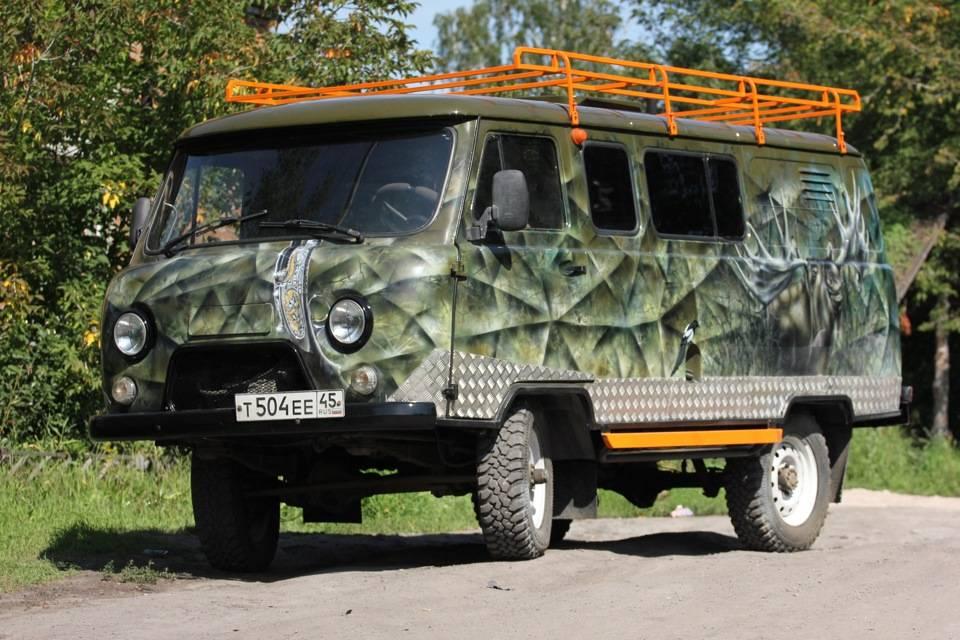 """Мир на колесах: уаз-452 """"буханка"""": катафалк для ядерной войны"""