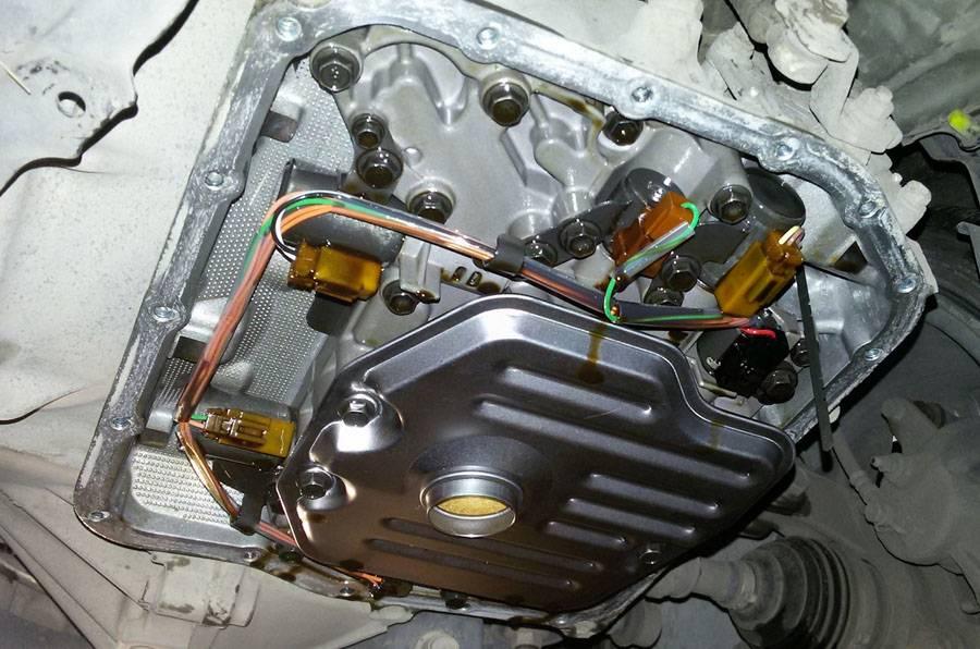 Как заменить масло в автоматической коробке передач