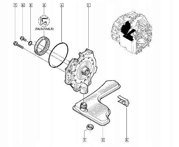 Замена масла в механической коробке передач рено логан 1.6