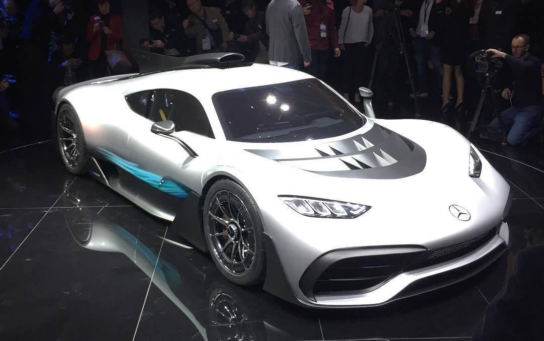 Mercedes-amg project one: виа по гиперкару от мерседеса