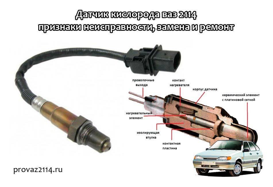 Датчик кислорода приора: признаки неисправности, где находится, как проверить мультиметром, замена, напряжение на датчике
