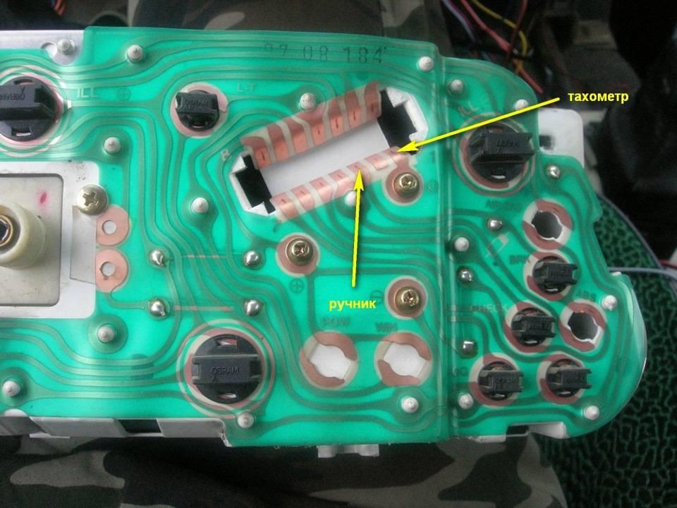 Не работает тахометр на ваз 2114 инжектор причины и решение