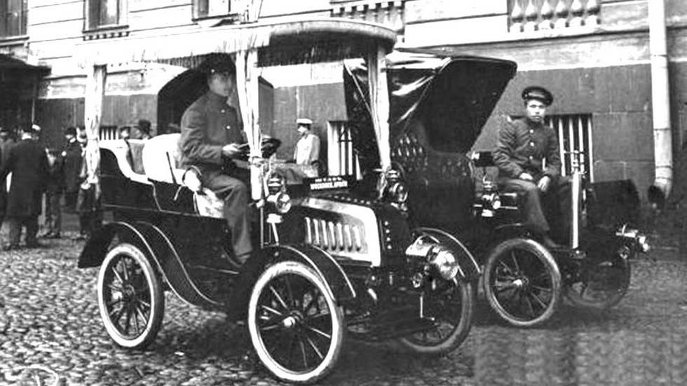Русские броневики первой мировой