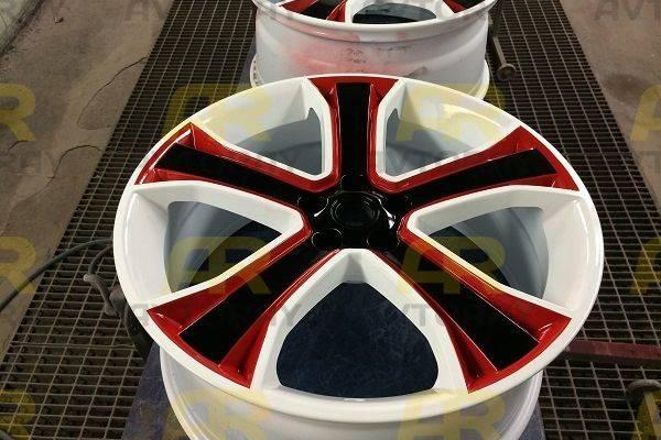 Покраска литых дисков своими руками