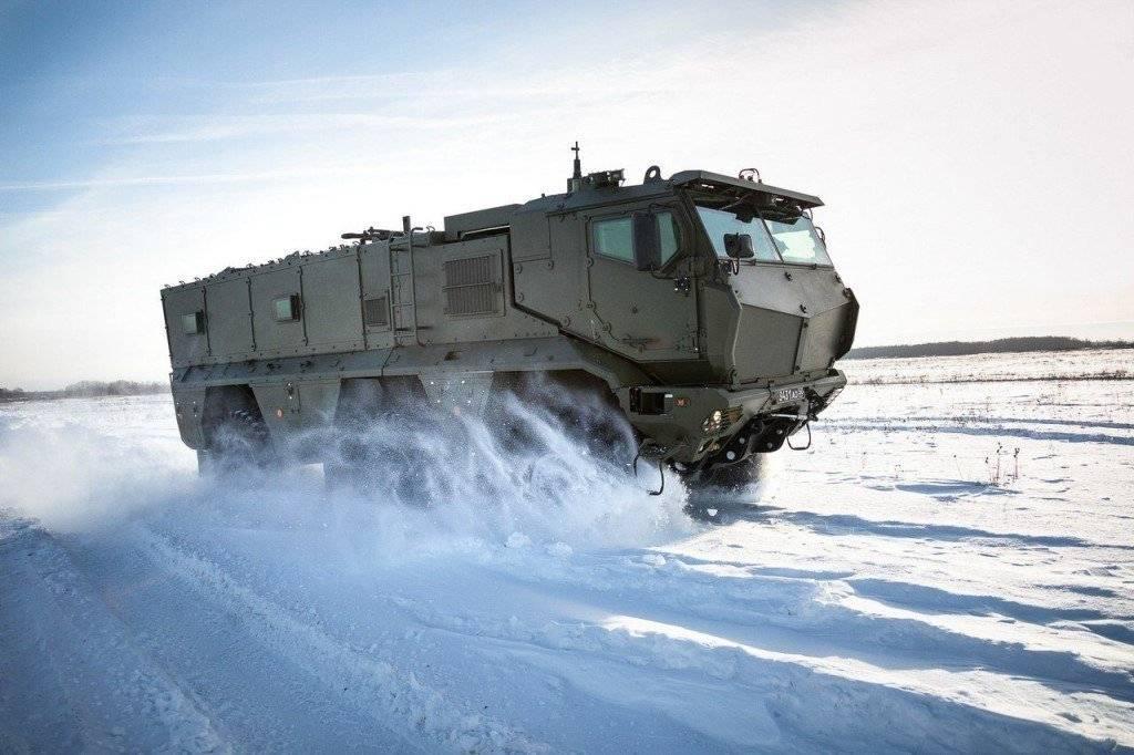 бронеавтомобиль «тайфун»: конструкция и модификации