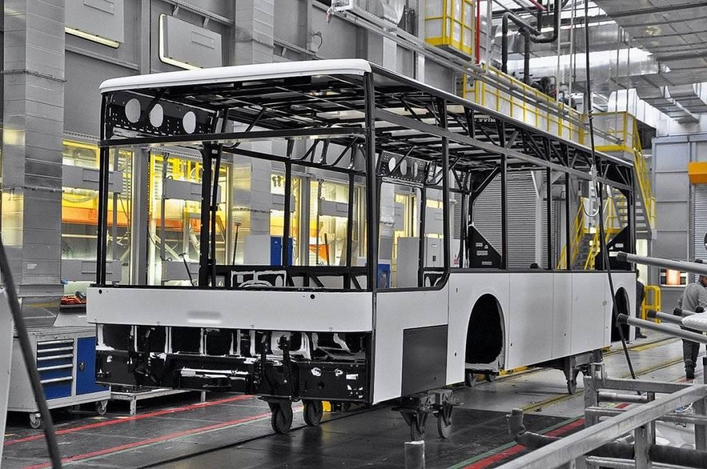 Как делают автобусы ман?  репортаж с завода в анкаре