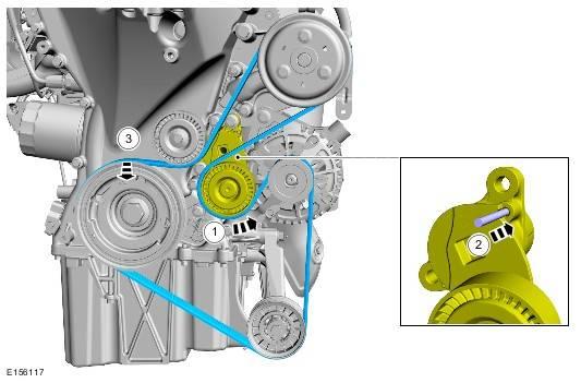 Как заменить ремни кондиционера и генератора на форд фокус 2, и л