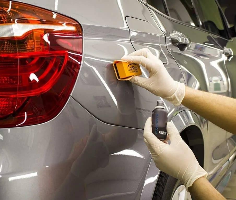 Керамическое покрытие автомобиля, плюсы и минусы