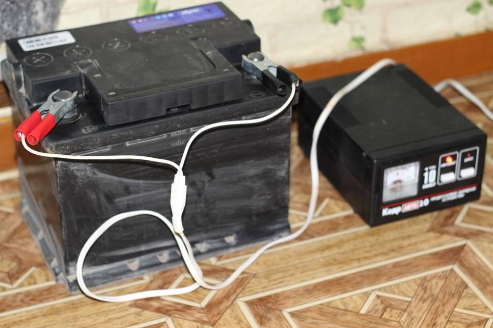 Зарядка гелевого аккумулятора автомобиля