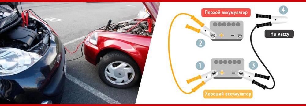 Лайфхак для старта: как прикурить аккумулятор автомобиля без последствий?