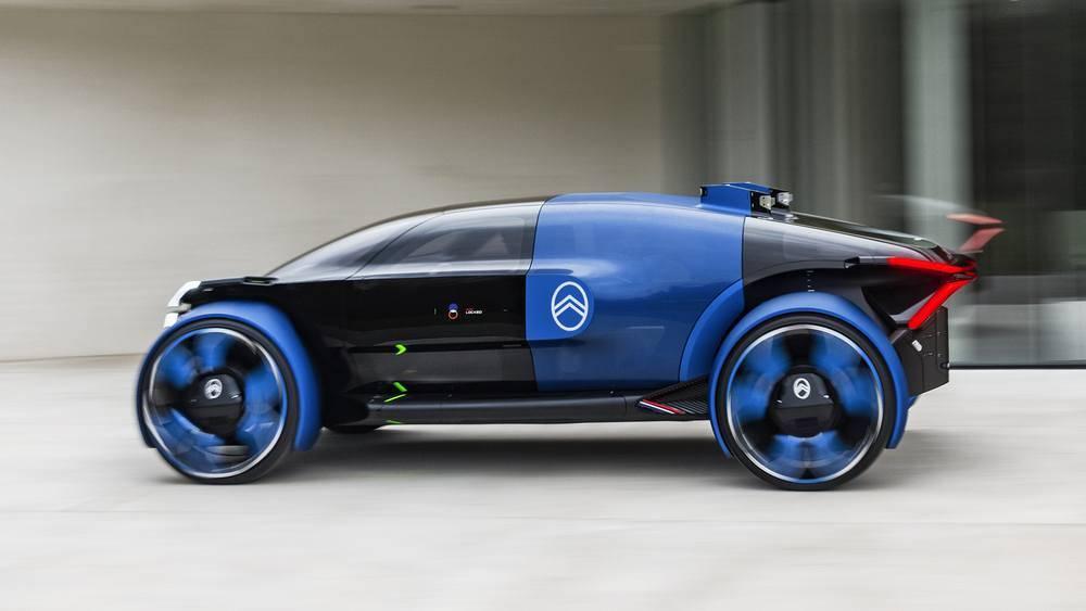 Citroёn 19_19 concept – ультракомфортный электромобиль