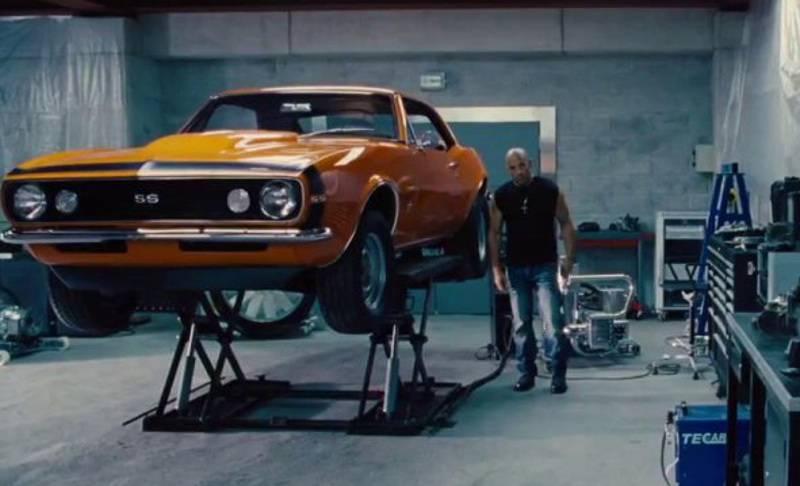 Все автомобили из фильмов «форсаж» 1,2,3,4,5,6,7,8