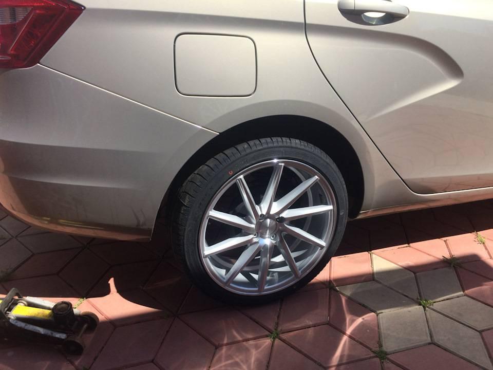 Прощай, штатное «литьё»! меняем колёсные диски на редакционной lada vesta   хорошие немецкие машины / опель по-русски  /  обзоры opel  / тест — драйвы opel