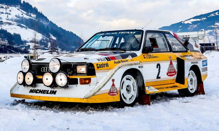 Audi quattro - вики