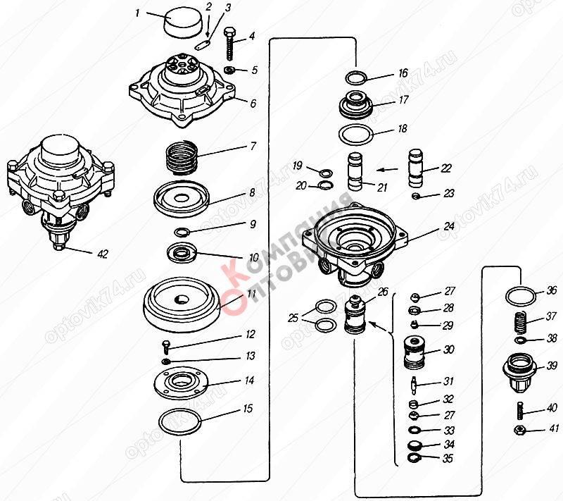 Тормозной кран камаз: схема подключения, ремонт, регулировка, как заменить, устройство, главный, принцип работы, двухсекционный, гтк евро с педалью, ручника