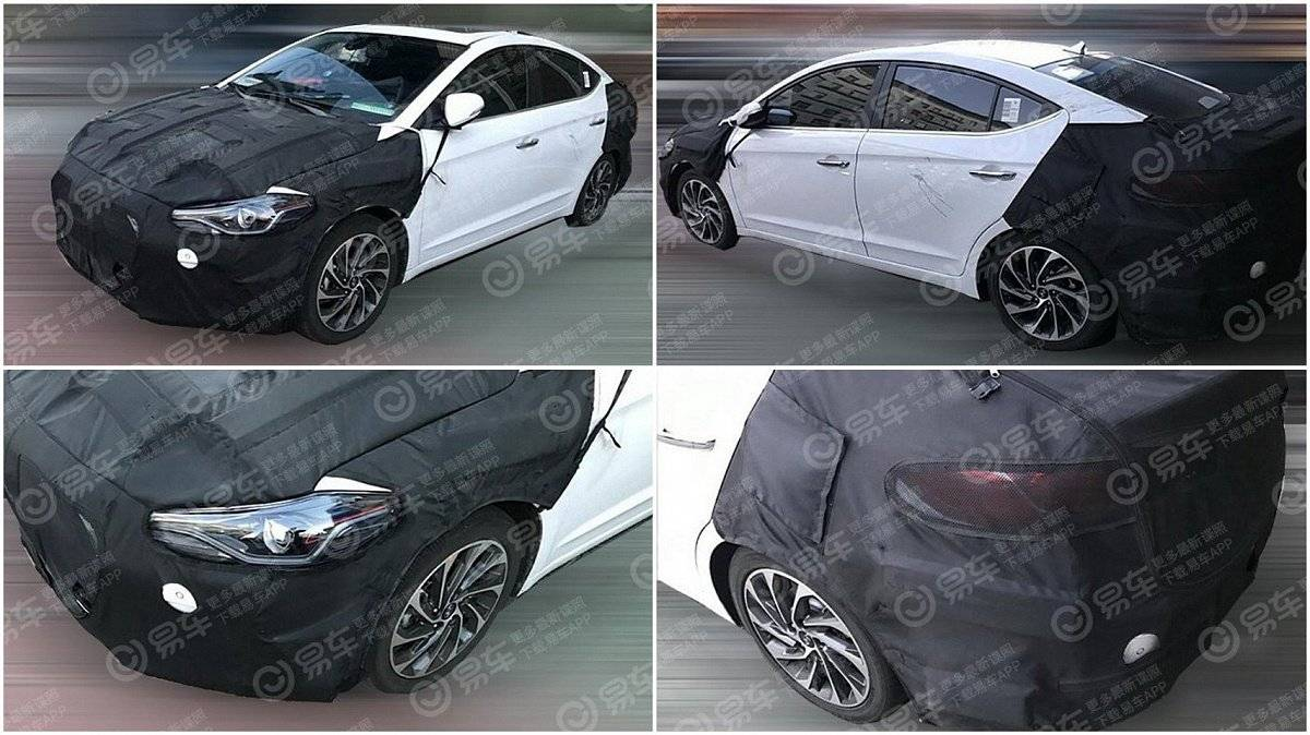 Рассекречен облик обновленной Hyundai Elantra