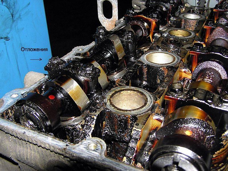 Выдавило масло из двигателя причины