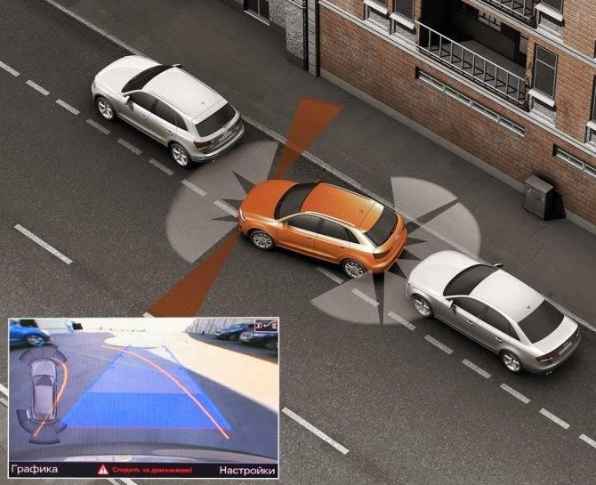 Как работает автономный парковочный ассистент в автомобилях машинах