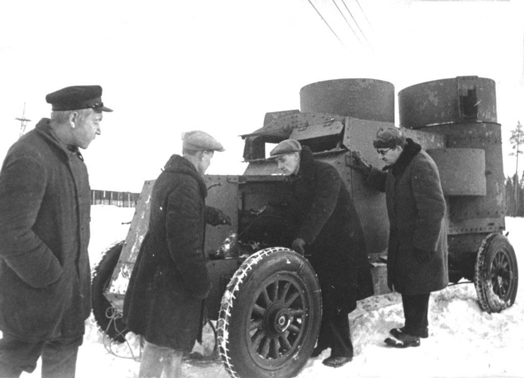 Иномарки на службе красной армии
