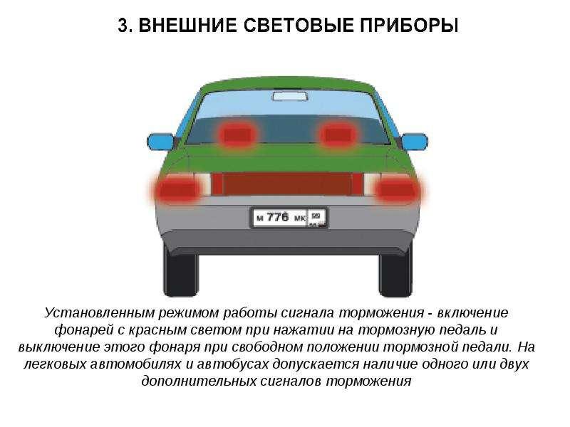 При каких неисправностях запрещена эксплуатация автомобиля?