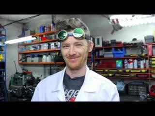 Блогер Доктор Дью о DIY, мотоциклах, еде и все о своей работе и увлечениях
