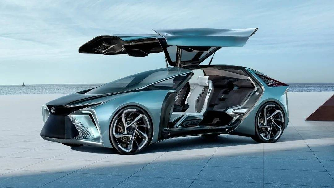 Lexus представил футуристичный концепт lf-z electrified