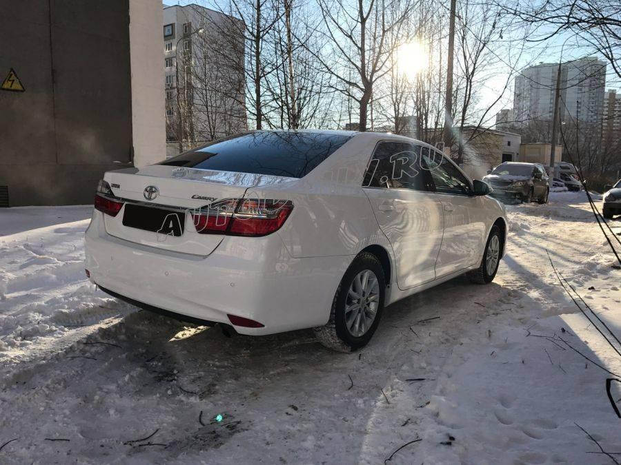 На вторичке появилось новое поколение Toyota Camry от 1,5 млн рублей