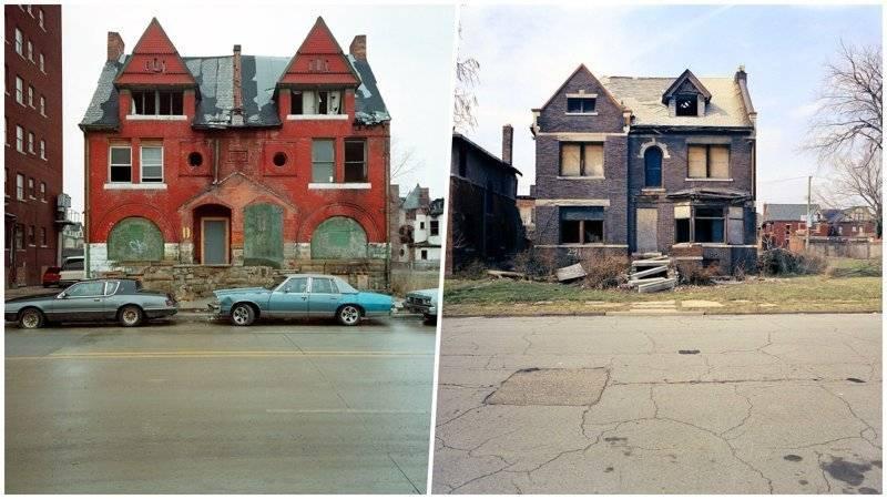Детройт превратился вгород-призрак