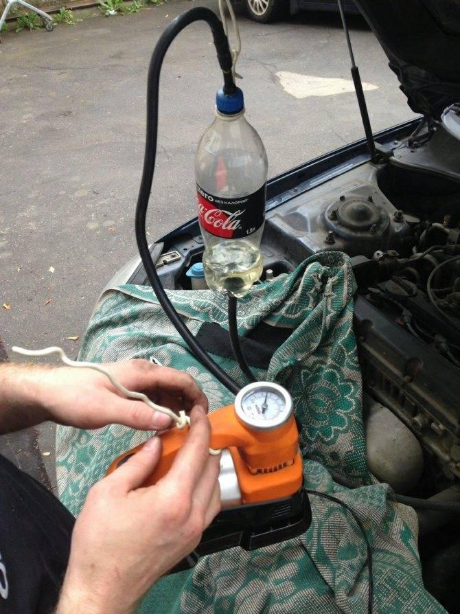Промывка форсунок двигателя своими руками