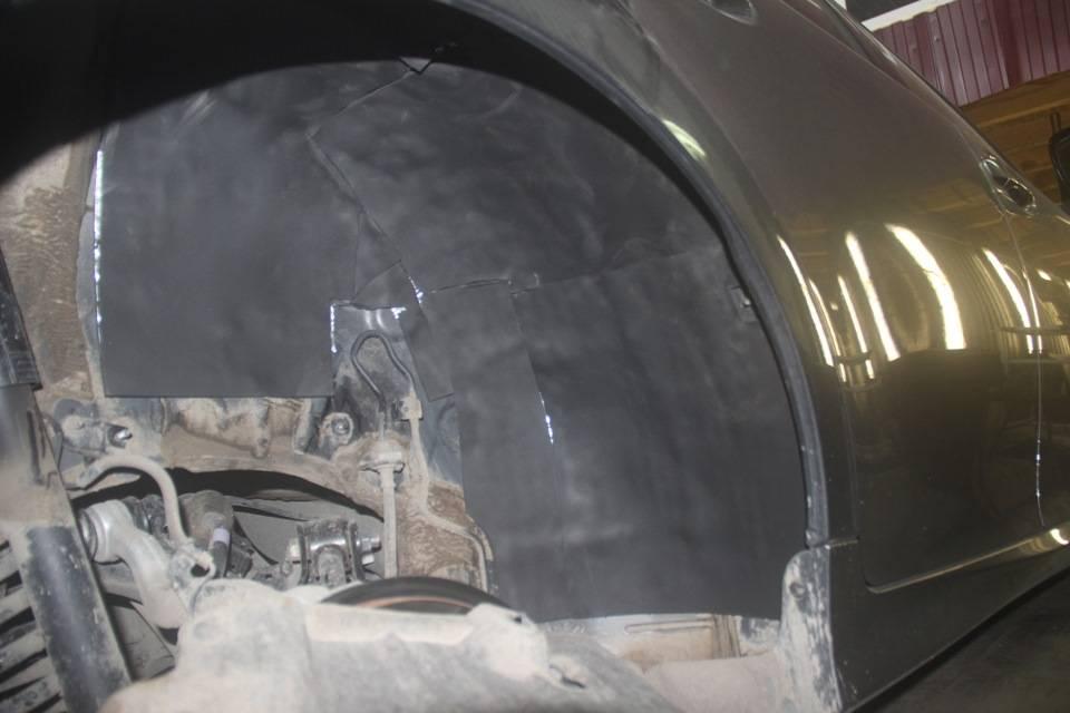 Как сделать шумоизоляцию колесных арок и подкрылков автомобиля своими руками