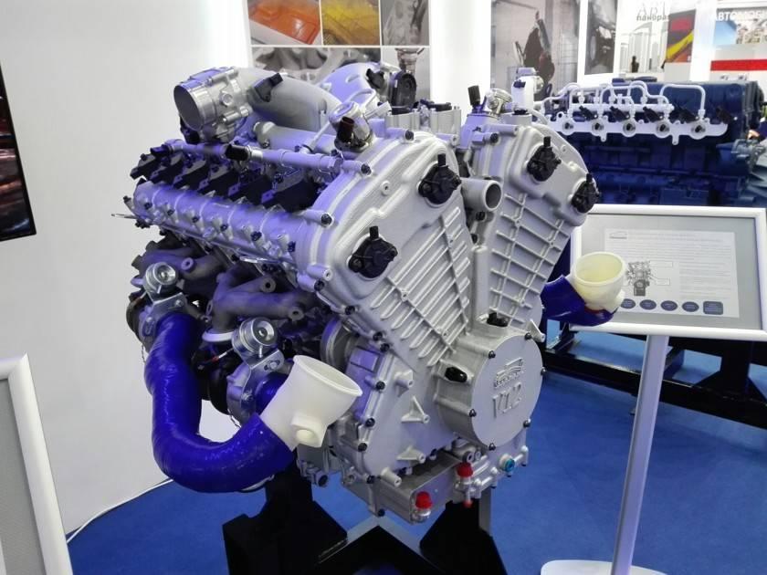 Нами опубликовал характеристики 2,2-литрового турбомотора, разработанного в рамках проекта «кортеж»