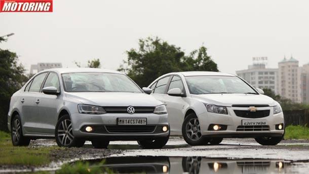 Volkswagen Jetta против Chevrolet Cruze: что лучше